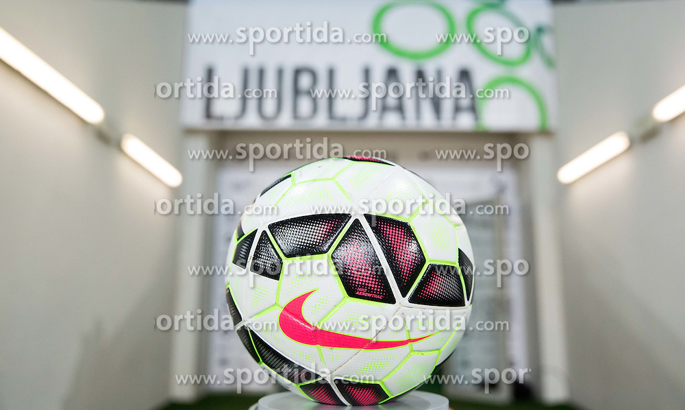 Nike Ball prior to the football match between NationalTeams of Slovenia and San Marino in Round 5 of EURO 2016 Qualifications, on March 27, 2015 in SRC Stozice, Ljubljana, Slovenia. Photo by Vid Ponikvar / Sportida