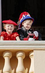 November 19, 2019, Monaco, Monaco: 19-11-2019 Monte Carlo Prince Jacques and Princess Gabriella during the Monaco national day celebrations in Monaco. (Credit Image: © face to face via ZUMA Press)