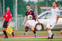 Tom Zurga of NK Triglav Kranj during Football match between NK Triglav Kranj and NK Rudar Velenje in Round #3 of Prva liga Telekom Slovenije 2019/20, on July 27, 2019 in Sports park Kranj, Kranj, Slovenia. Photo by Ziga Zupan / Sportida