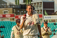 19 Sept 2017 - Surrey v Somerset. 1st day of the Specsavers County Championship match at the Oval.