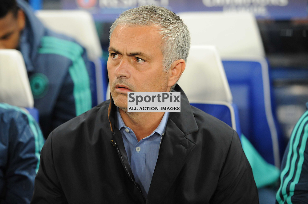 Chelsea manager Jose Mourinho before the Chelsea v Maccabi Tell-Aviv champions league match in the group stage.