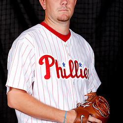 February 22, 2011; Clearwater, FL, USA; Philadelphia Phillies pitcher Dan Meyer (62) poses during photo day at Bright House Networks Field. Mandatory Credit: Derick E. Hingle