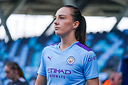 Manchester City Women forward Caroline Weir (19) during the FA Women's Super League match between Manchester City Women and BIrmingham City Women at the Sport City Academy Stadium, Manchester, United Kingdom on 12 October 2019.