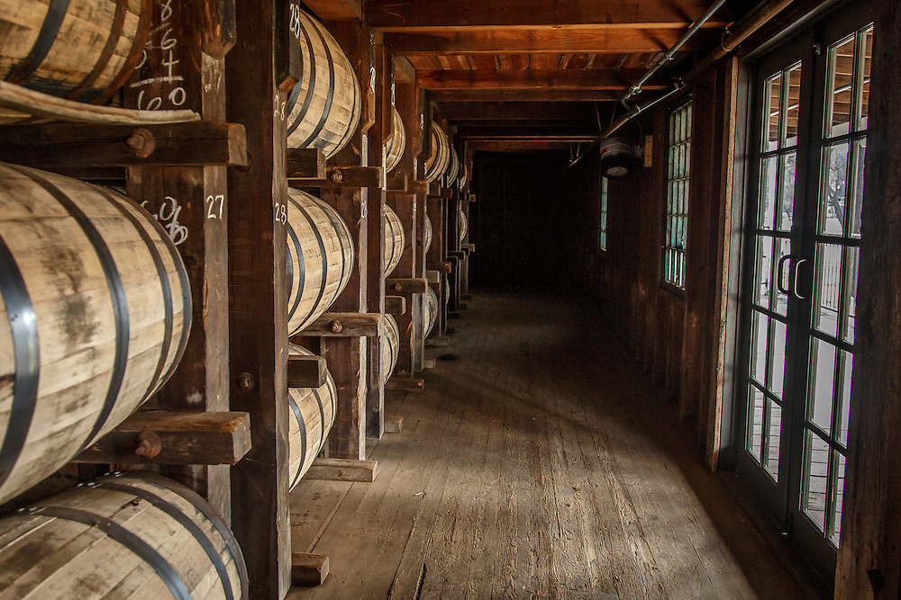 One of the storage warehouses at Stitzel-Weller Distillery in the Shively area of Louisville, Kentucky, January 30, 2015. Gary He/DRAMBOX MEDIA LIBRARY