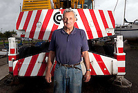 112112/11 Sea People Project - Terry Young, Owner & Proprietor of Youngboats Boatyard photographed at Youngboats, Oare, Nr Faversham, Kent