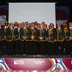 South Africa Welcome Ceremony