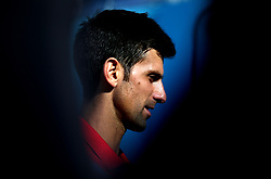Serbia's Novak Djokovic after winning his match against Bulgaria's Grigor Dimitrov during day four of the Fever-Tree Championship at the Queen's Club, London.