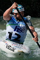 Helmunt Oblinger of Austria competes in the Men's Kayak K-1 at ICF Canoe Slalom World Championships - Sloka 2010 on September 12, 2010 in Tacen, Ljubljana, Slovenia (Photo by Matic Klansek Velej / Sportida)