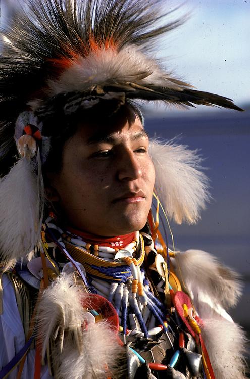 Blackfeet Dancer, North American Indian Days, Blackfeet Indian Reservation, Browning, Montana, USA