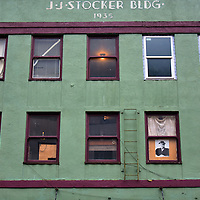 J.J. Stocker Building in Downtown Juneau, Alaska <br />