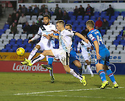 Dundee&rsquo;s Kane Hemmings and Rhys Healy - Inverness Caledonian Thistle v Dundee at Caledonian Stadium, Inverness<br /> <br />  - &copy; David Young - www.davidyoungphoto.co.uk - email: davidyoungphoto@gmail.com