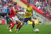 Josh Ruffels (Oxford United) during the Johnstone's Paint Trophy Final between Barnsley and Oxford United at Wembley Stadium, London, England on 3 April 2016. Photo by Mark P Doherty.
