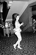 Josa Keyes, Piers Gaveston Ball, Park Lane Hotel 13.05.83© Copyright Photograph by Dafydd Jones 66 Stockwell Park Rd. London SW9 0DA Tel 020 7733 0108 www.dafjones.com