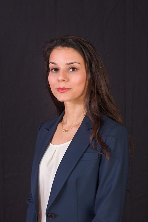 Portrait of Nadia Esfandiari for  the Goldstein, Garber and Salama dental practice, January 24, 2018