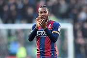 Dominic Poleon (11) of Bradford City applauds, claps the away fans after a 1-0 loss to Plymouth Argyle during the EFL Sky Bet League 1 match between Plymouth Argyle and Bradford City at Home Park, Plymouth, England on 24 February 2018. Picture by Graham Hunt.