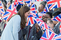 The Duchess of Cambridge, Kensington Aldridge Academy.
