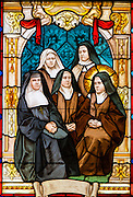 St. Therese with her sisters. (Sam Lucero photo)