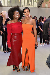 Left to right, Clara Amfo and Maya Jama at the Glamour Women of The Year Awards 2017 in association with Next held in Berkeley Square Gardens, London England. 6 June 2017.