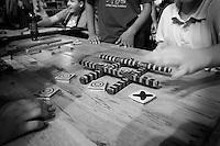 """Una sequenza di scatti realizzati durante la festa democratica tenutasi a Lecce in piazza S. Oronzo. Durante la manifestazione si sono susseguiti una serie di incontri con personaggi politici, esposizioni artistiche, giochi per bambini realizzati con materiale di riciclo, presentazioni di libri. Una fra queste è stata la presentazione del libro di Gabriele """"Kash"""" Torsello """"Afghanistan camera oscura"""". Nel corso delle giornate della manifestazione sono stati realizzati dei ritratti fotografici ai personaggi o semplici cittadini che hanno animato ed assistito all'incontro."""