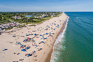 Coopers Beach, Aerial, Southampton , NY