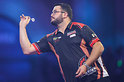 Cristo Reyes during the PDC William Hill World Darts Championship at Alexandra Palace, London, United Kingdom on 17 December 2019.