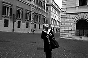 Piazza Montecitorio. Rome 27 October 2017. Christian Mantuano / OneShot