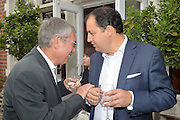 IZAK UZIYEL; PIERRE MOLLOFF, Dinner to celebrate the 10th Anniversary of Contemporary Istanbul Hosted at the Residence of Freda & Izak Uziyel, London. 23 June 2015