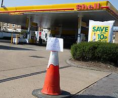 Petrol Stn closed