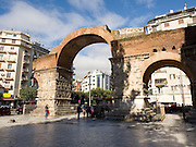 Greece, Macedonia, Thessaloniki, Arch of Galerius