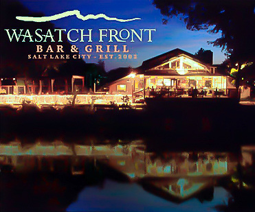 Brochure for Wasatch Front Bra & Grill