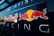 February 20, 2013 - Barcelona Spain. Red Bull Racing logo  during pre-season testing from Circuit de Catalunya.