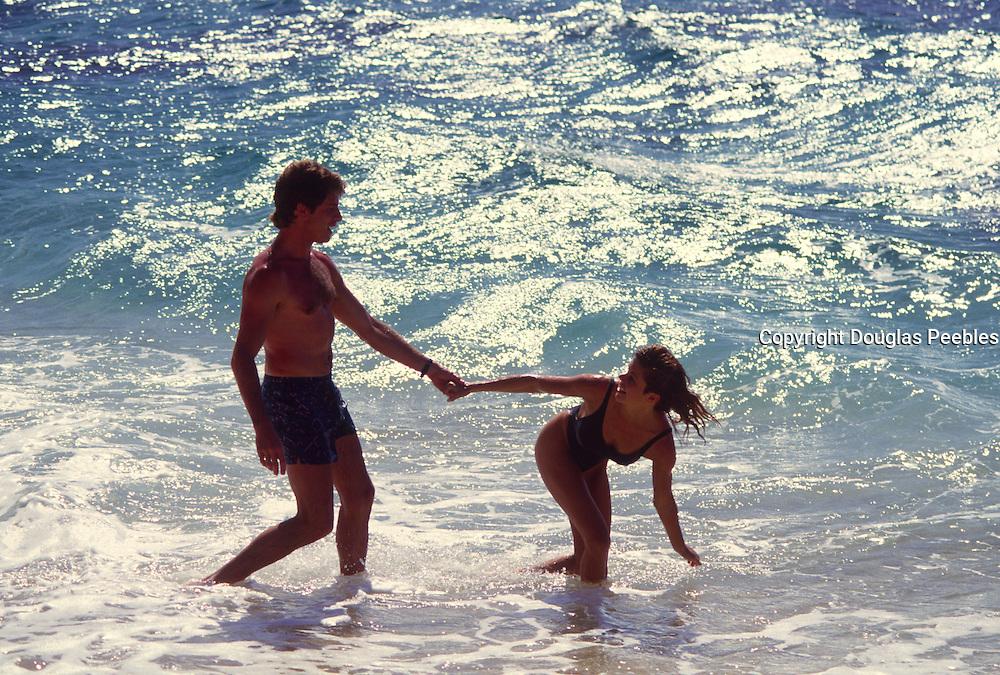 Couple in ocean<br />