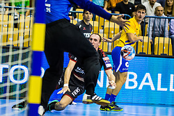 Glandorf Holger of SG Flensburg-Handewitt during handball match between RK Celje Pivovarna Lasko (SLO) and SG Flensburg Handewitt (GER) in 3rd Round of EHF Men's Champions League 2018/19, on September 30, 2018 in Arena Zlatorog, Celje, Slovenia. Photo by Grega Valancic / Sportida