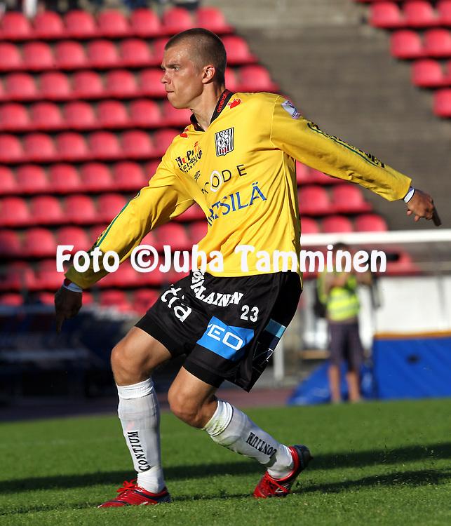 05.07.2010, Ratina, Tampere..Veikkausliiga 2010, Tampere United - Vaasan Palloseura..Jyri Hietaharju - VPS.©Juha Tamminen.