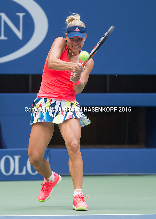 ANGELIQUE KERBER (GER)<br /> <br /> Tennis - US Open 2016 - Grand Slam ITF / ATP / WTA -  USTA Billie Jean King National Tennis Center - New York - New York - USA  - 10 September 2016.