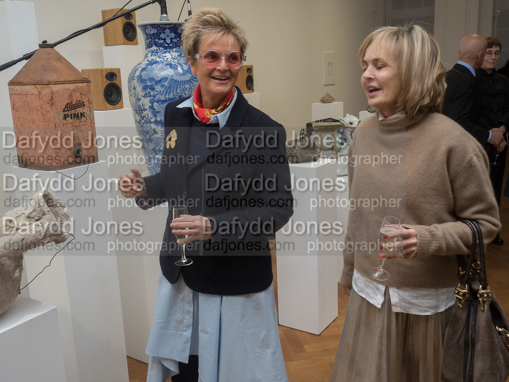 GLORIA PRINCEESS OF THURN UND TAXIS; MAYA FLICK, Opening of Galerie Thaddaeus Ropac London, Ely House, 37 Dover Street.. Mayfair. London. 26 April 2017.