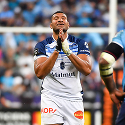Sitiveni Mafi of Castres celebrates during the French Final Top 14 match between Montpellier and Castres at Stade de France on June 2, 2018 in Paris, France. (Photo by Aude Alcover/Icon Sport)