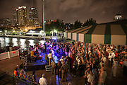 French Quarter Festival party on the Riverboat Natchez