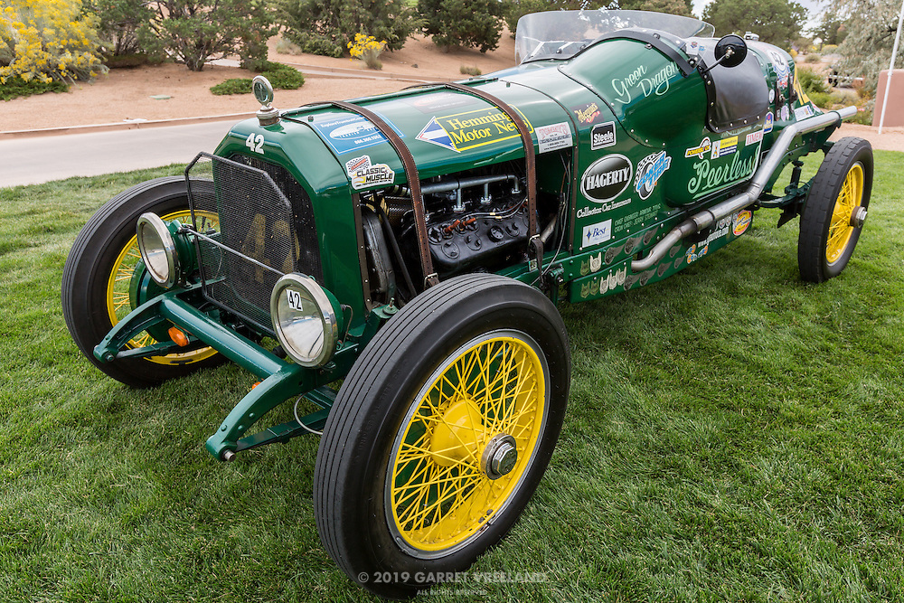 Saturday evening walkaround in threatening weather, 2012 Santa Fe Concorso.