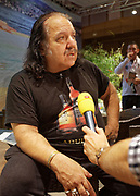 Berlin, Germany - 18 October 2012<br /> Porn star Ron Jeremy promoting his 'Ron Jeremy' brand of rum at the Venus Berlin 2012 adult industry exhibition in Berlin, Germany. Ron Jeremy, born Ronald Jeremy Hyatt, has been an American pornographic actor since 1979. He faces sexual assault allegations which he strenuously denies. There is no suggestion that any of the people in these pictures have made any such allegations.<br /> www.newspics.com/#!/contact<br /> (photo by: EQUINOXFEATURES.COM)<br /> Picture Data:<br /> Photographer: Equinox Features<br /> Copyright: &copy;2012 Equinox Licensing Ltd. +448700 780000<br /> Contact: Equinox Features<br /> Date Taken: 20121018<br /> Time Taken: 12152990