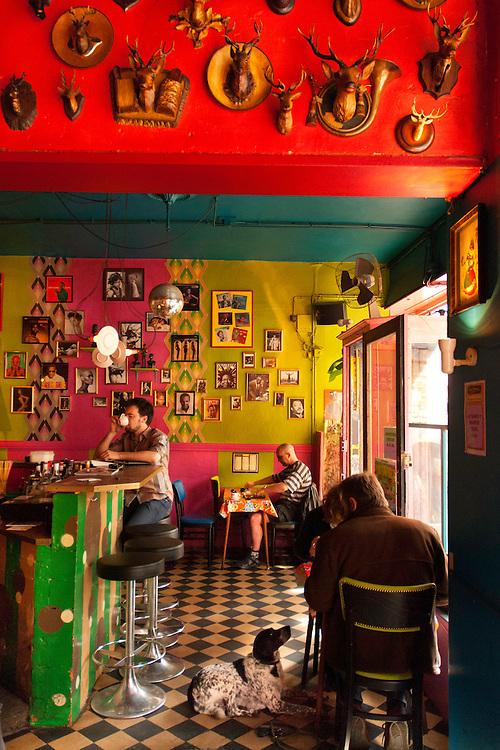 Pink Flamingo&acute;s Cafe.<br /> Gent, Belgium.