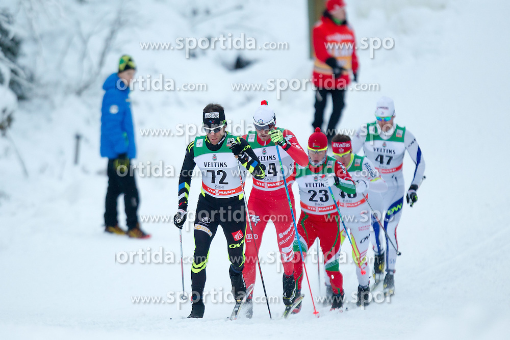 30.11.2014, Nordic Arena, Ruka, FIN, FIS Weltcup Langlauf, Kuusamo, 15 km Herren, im Bild Jean Marc Gaillard (FRA) // Jean Marc Gaillard of France during Mens 15 km Cross Country Race of FIS Nordic Combined World Cup at the Nordic Arena in Ruka, Finland on 2014/11/30. EXPA Pictures © 2014, PhotoCredit: EXPA/ JFK
