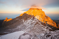 A moment of fire and ice on the Africa's equator: snow, sunrises and summits.