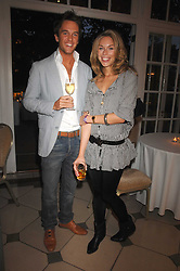 DUNCAN STIRLING and actress  OLIVIA SCOTT-WEBB at a Summer BBQ for Kitts nightclub hosted by Chalie Gilkes and Duncan Stirling at the Hurlingham Club, London on 31st August 2007.<br /><br />NON EXCLUSIVE - WORLD RIGHTS