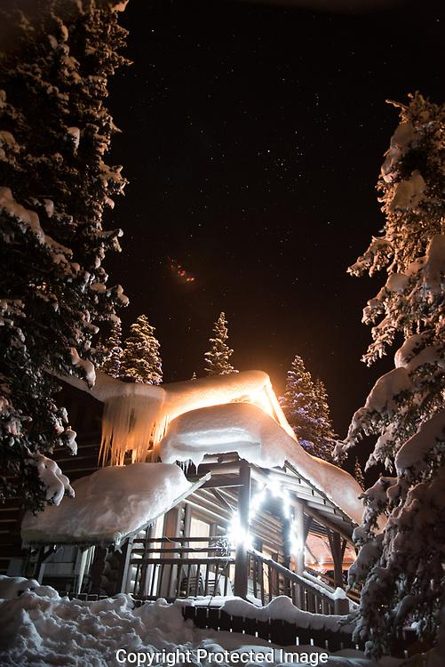 Guide's Cabin, Lake Louise., Alberta, Canada, Isobel Springett