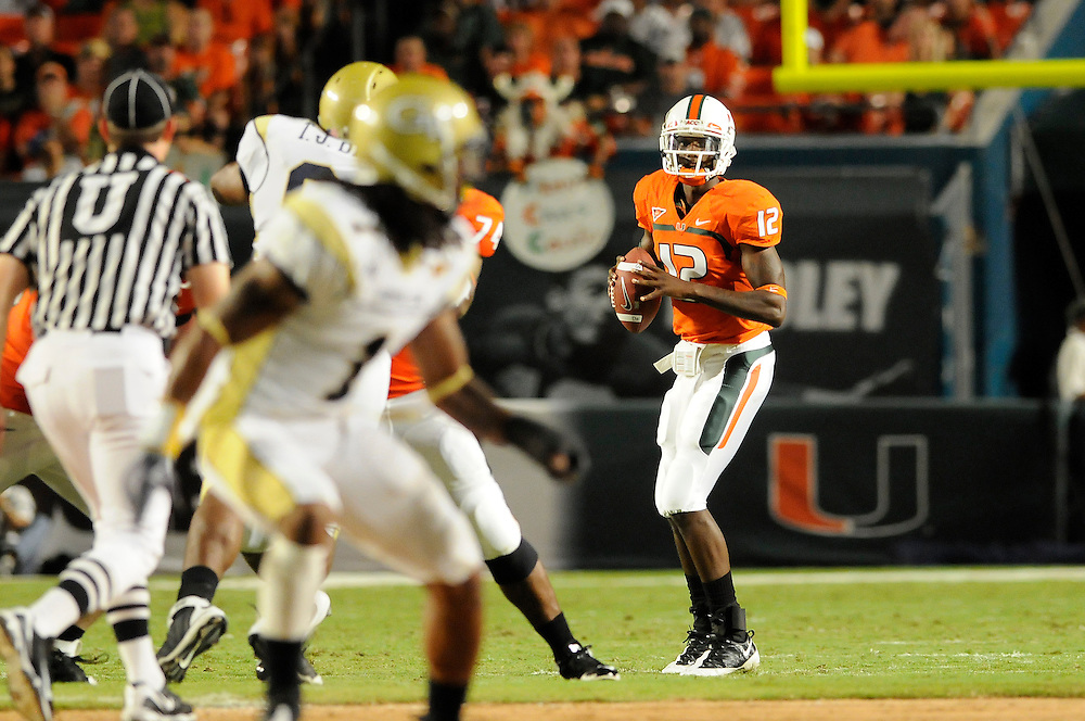2009 Miami Hurricanes Football vs Georgia Tech