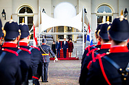 14-11-2018 THE HAGUE - King Willem-Alexander and Queen Maxima receives President Van der Bellen and his wife Wednesday 14 November with a welcome ceremony at Paleis Noordeinde in The Hague, followed by an audience. The King and Queen Maxima then offer the presidential couple a lunch. The King and the President will give a speech.Copyright Robin Utrecht