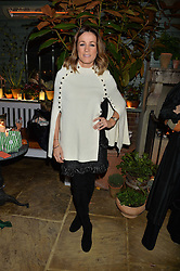 The Ivy Chelsea Garden's Guy Fawkes Party & Launch of The Winter Garden was held on 5th November 2016.<br /> Picture shows:-NATALIE PINKHAM.