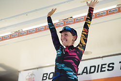 Stage winner, Lisa Brennauer at Boels Rental Ladies Tour Stage 4 a 121.4 km road race from Gennep to Weert, Netherlands on September 1, 2017. (Photo by Sean Robinson/Velofocus)