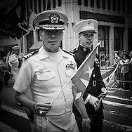New York Puerto rican parade, on fifth avenue -